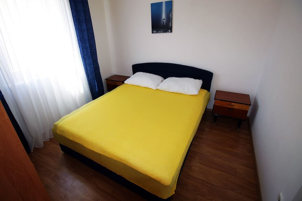 Bedroom, double bed