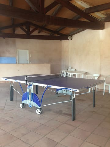 salle de ping-pong