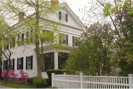 Historic Garden House in Bath, Maine