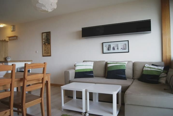 Ski-in/ski-out spacious apartment in Plagne Centre
