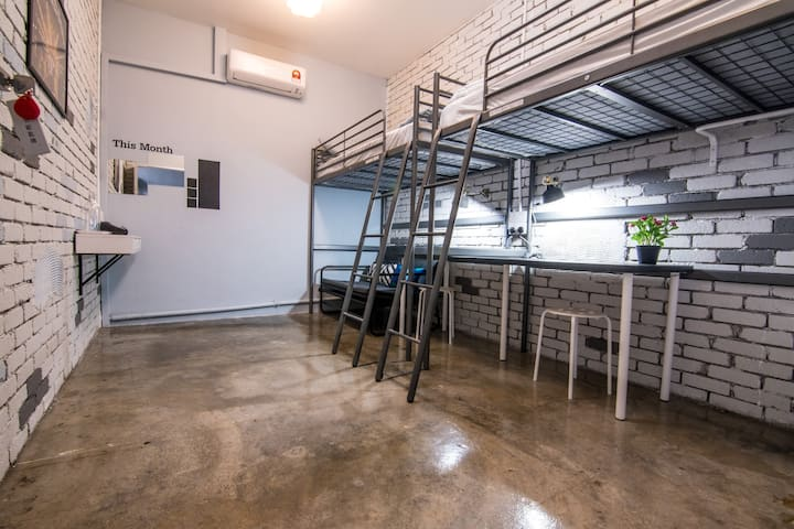 HuttonSTAY@Penang |Room4| Best Location WiFi Ac