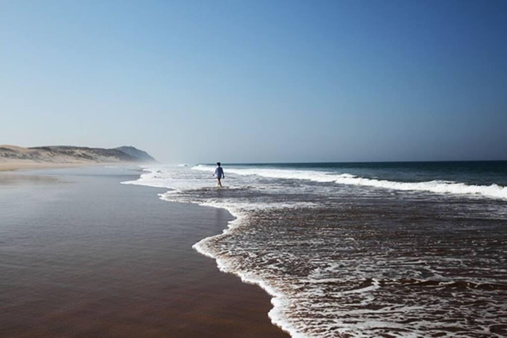 l'une des plus belles plages au Maroc