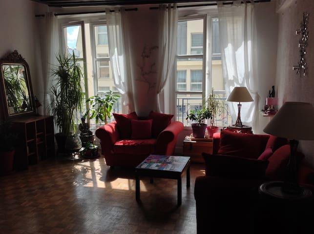Chambre Cosy pour 2 au cœur  de Paris