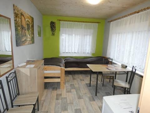Radlerzimmer (Zweibettzimmer)