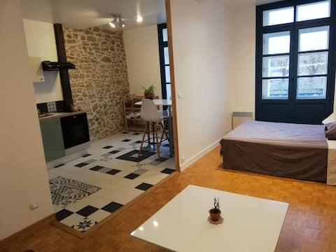 Appartement cosy, centre ville sable sur Sarthe.
