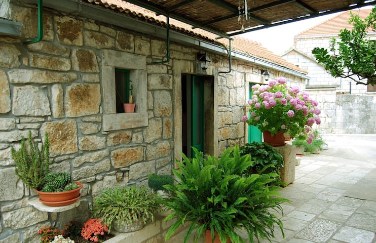#Airbnb Adriatic stone house-studio for vacation