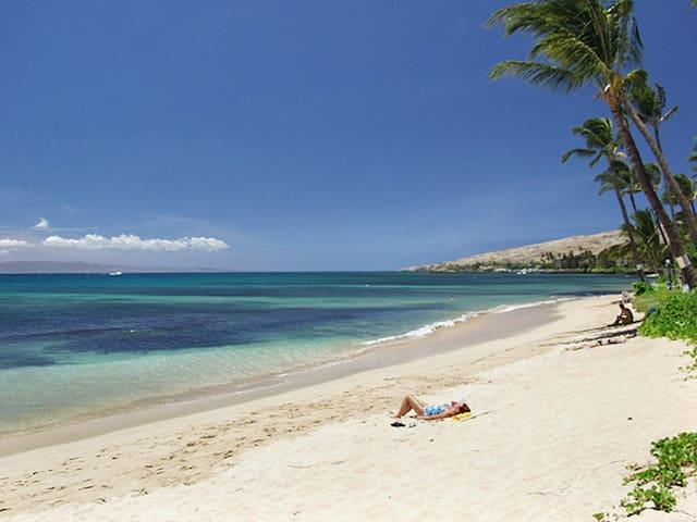 Coast Guard Beach, 350 meters away from Maalaea Banyan.