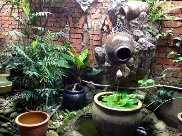 My Balinese-styled garden/ patio.
