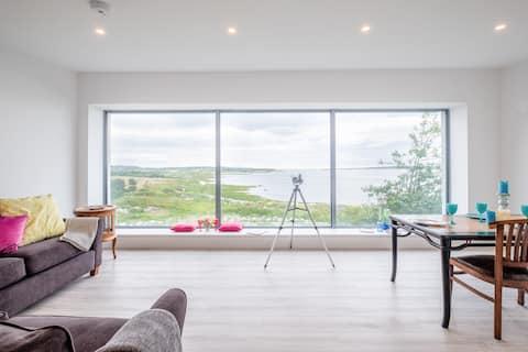 Wspaniały domek z widokiem na morze na Zamku Oranmore
