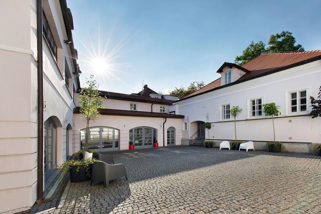 Little Monastery Courtyard