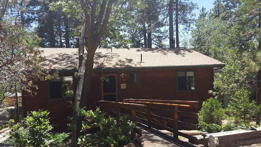 Knotty Pine Haven 2 bedrooms 3 baths - Idyllwild-Pine Cove - Cabaña