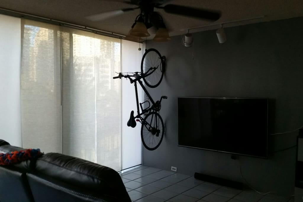 This is my minimalist living area