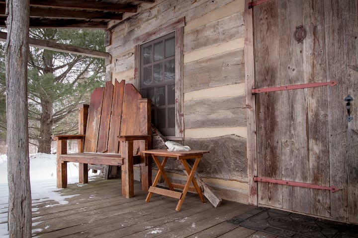 Cabin Porch - Sit and relax with nature!
