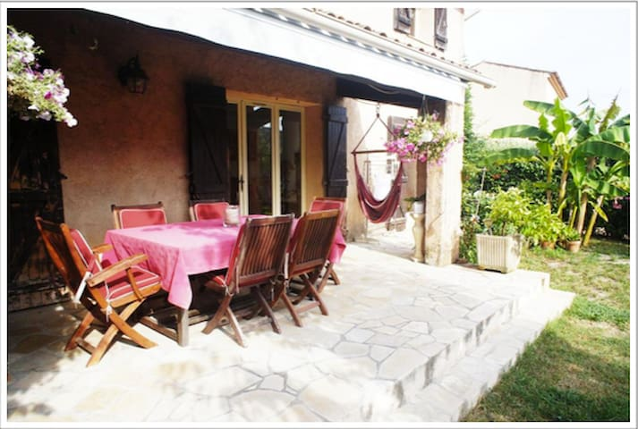 Entire Holiday House 150sqm, 4bed, up to 8 persons - La Colle-sur-Loup - Casa