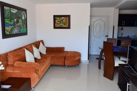 New central apartment - Apto nuevo parque central - San Gil