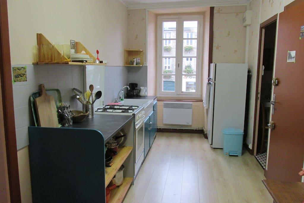 Cuisine- Appartement centre village