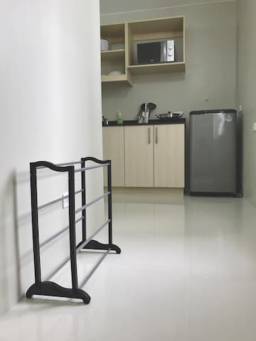 Entrance with Shoe Rack