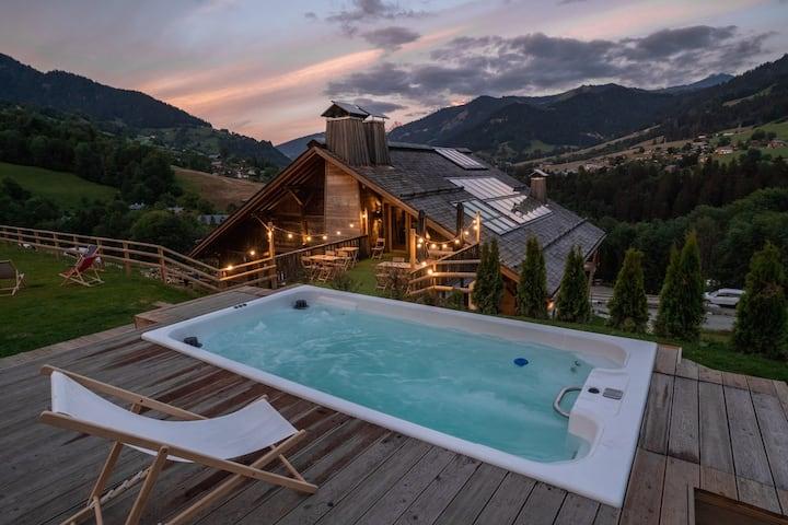 Chambre Premium avec terrasse privative / ECOGITE