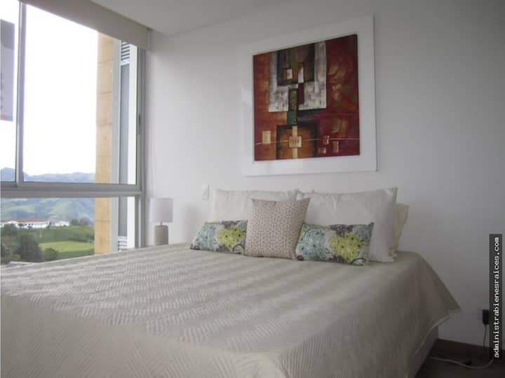 Moderno y cómodo apartaestudio!