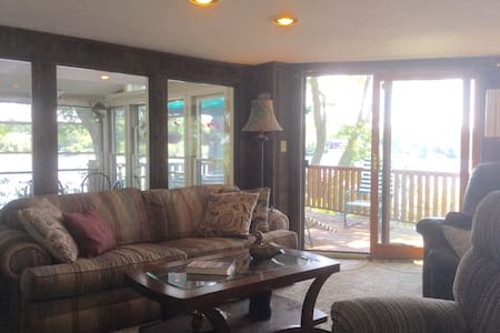 Paradise near Mohegan Sun on Gardner Lake 4Seasons - Montville - Bed & Breakfast