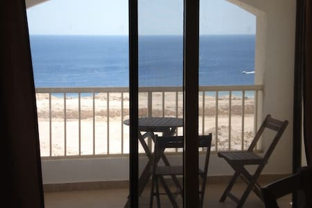 Sea view apartment for rent in Montazah Sharm - Apartamento