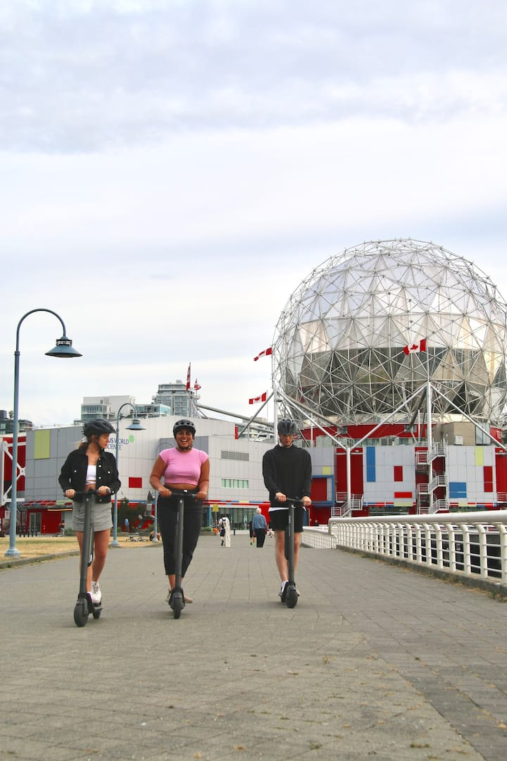 A quick visit to Science World