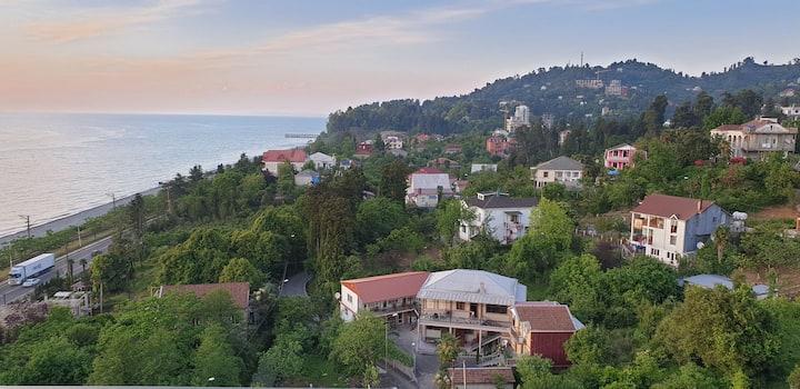 Flat in Georgia,Batumi between hills and the sea