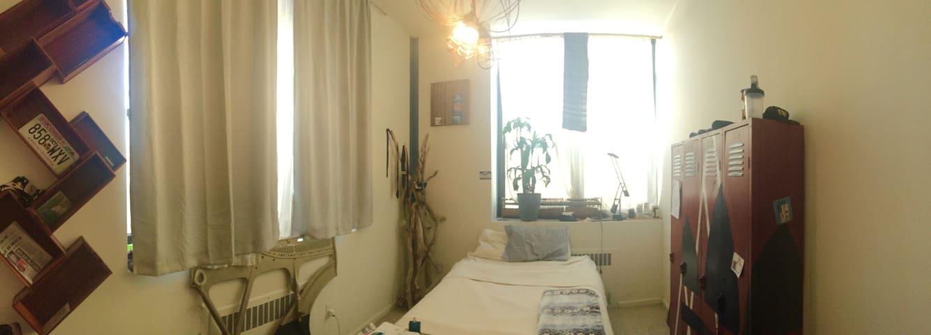 Lower East Side master bed - New York - Huoneisto
