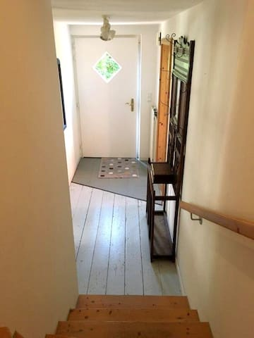 Und ein Blick auf den Eingangsbereich.