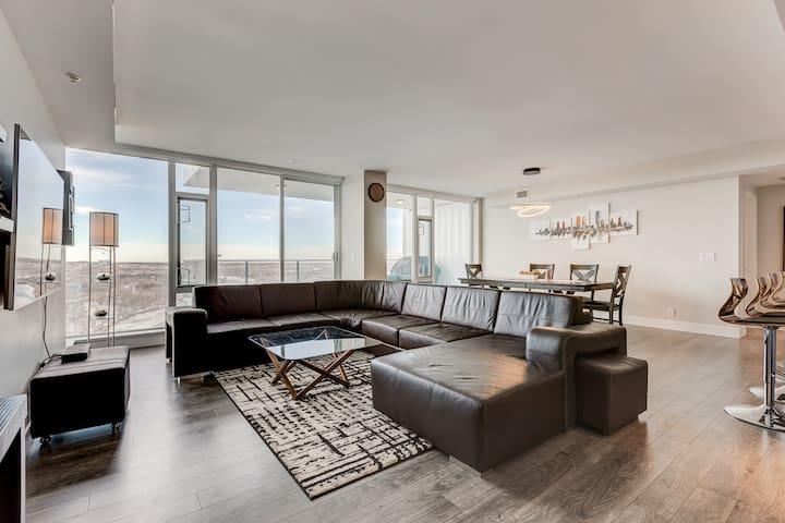 1320sf Luxury Sub-Penthouse - Downtown Riverfront - Calgary - Condominium