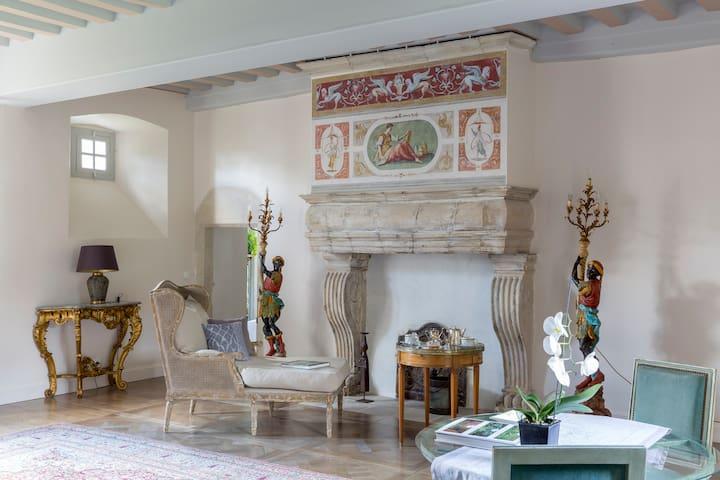 Manoir de la Fieffe - Suite Tocqueville - La Glacerie - Bed & Breakfast