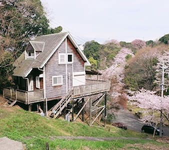 Woody house on Awaji island - Dom