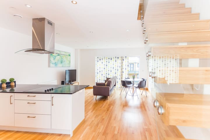 Gorgeous Flat for 6 in Central Cambridge