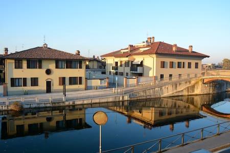 Confortevole casa sul canale - Gaggiano