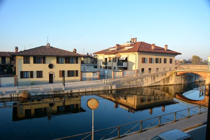Confortevole casa sul canale