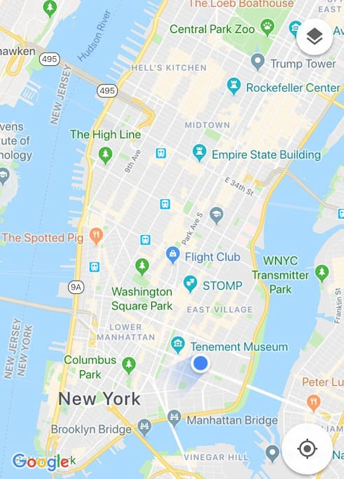 Great location, close to subway, between Times Square and Brooklyn Bridge, easy access to Williamsburg, Empire State Building, Financial District, Rockefeller Center, Soho, Tribeca and East Village.