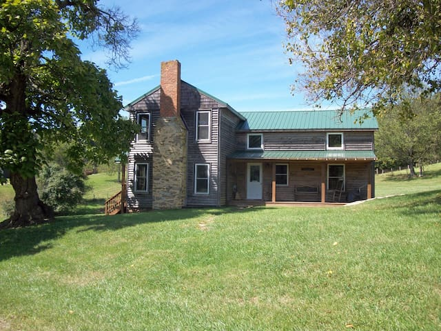 Charming 1860's home on 400 ac farm