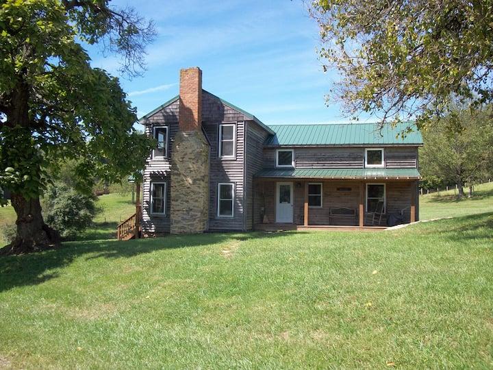 Charming 1860's home on 400 ac farm