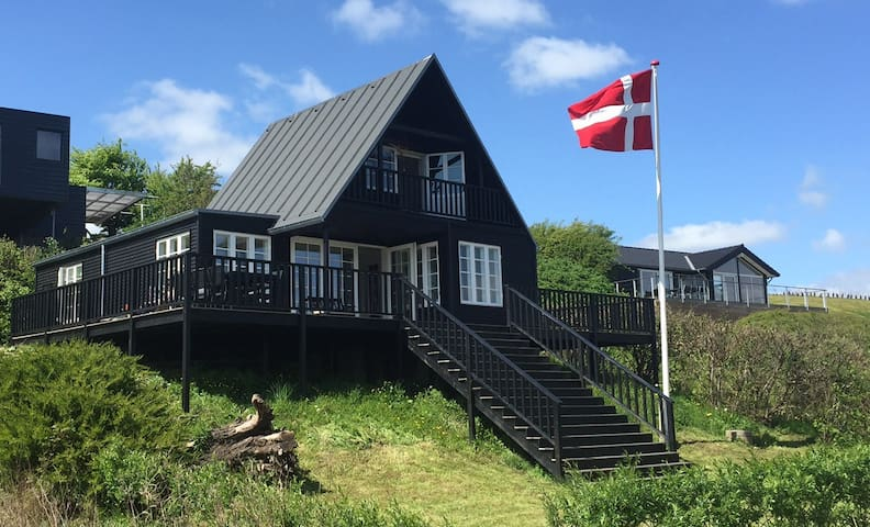 Nice summerhouse for relaxing with a great view - Grønninghoved - Cabana