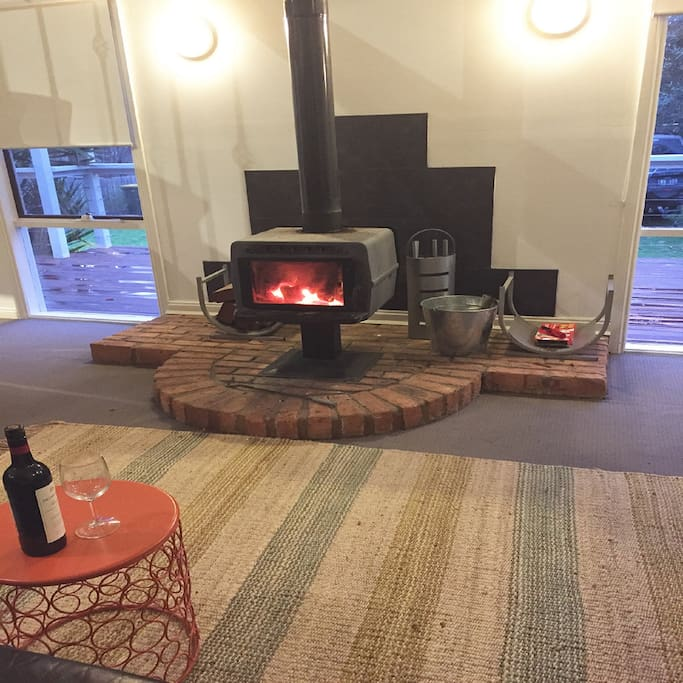Cosy fire place front lounge