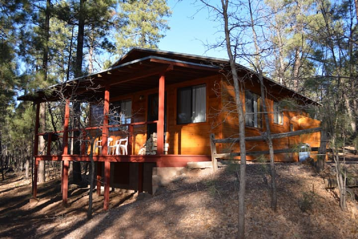 Whispering Pines Resort cabin 16