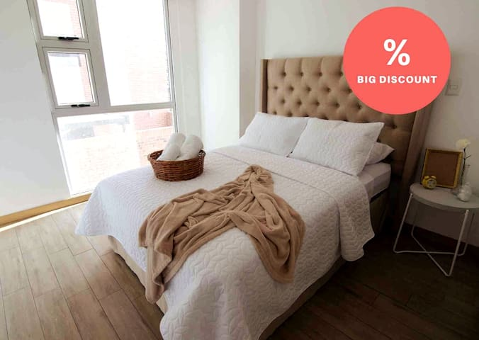 ★Discount★ Luxury Apartment with Gym, zone 10