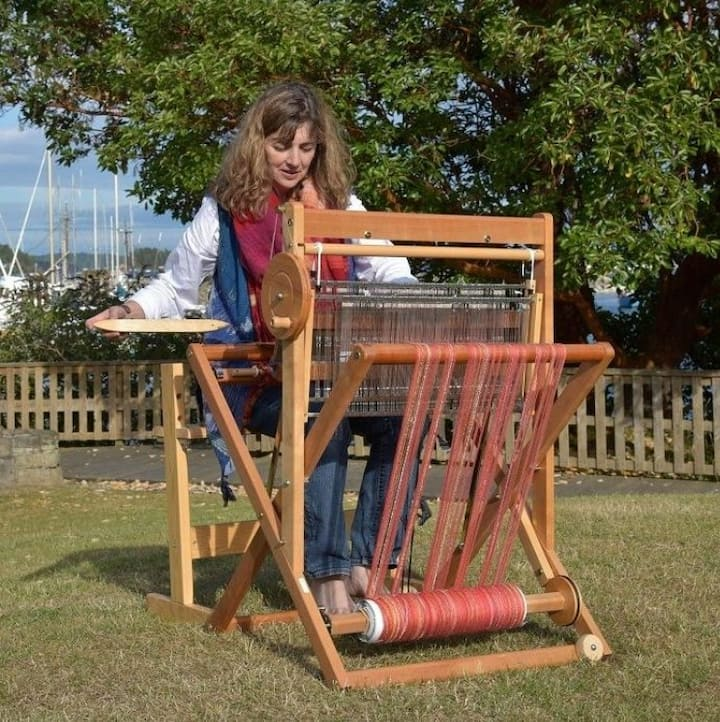 Weaving in the park