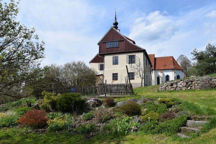 Historische Villa im Bäderdreieck - Brod nad Tichou - Casa de campo