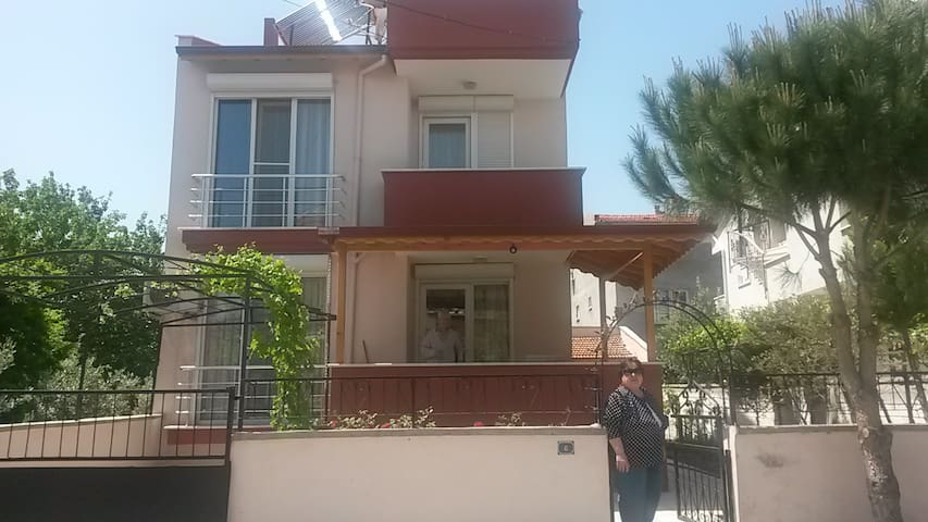 Two bedrooms, seperate kitchen, bathroom & terrace