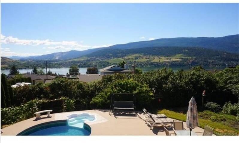 Vernon/Coldstream,  Pool, Gorgeous Lake Views