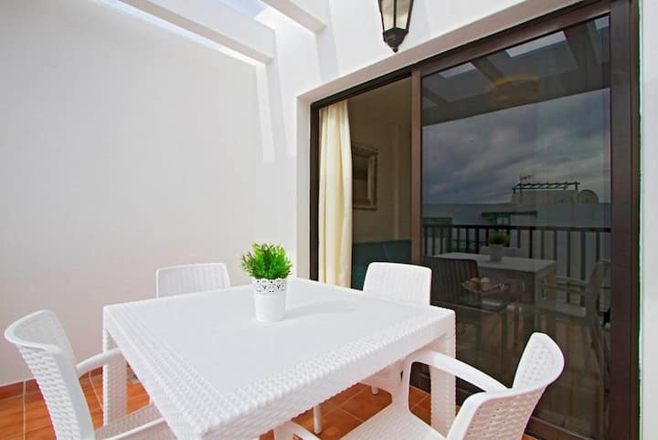 Comfortable sea view apartment in central Playa Blanca - Sara N° 4
