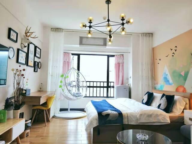 北欧舒适大床房