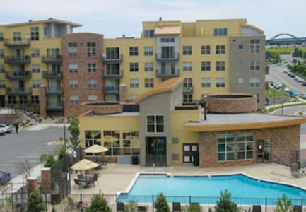 Upscale, Spacious 2Bed/2Bath DTC Condo - Englewood - House
