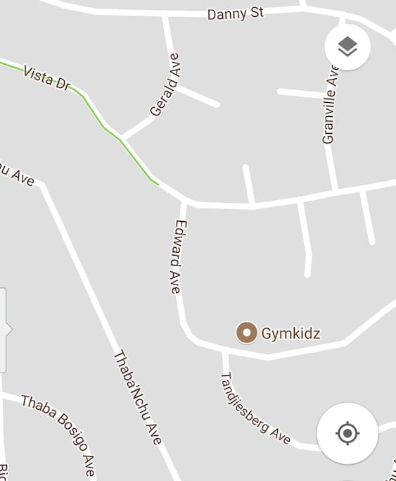area where house is situated.